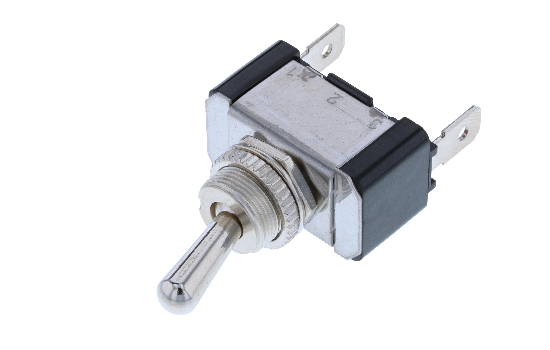 Switch Components offers a wide variety of nylon and metal heavy-duty Toggle Switches which are designed to fulfil the needs of today's automotive, marine and industrial applications along with a wide spectrum of general or custom electrical applications.