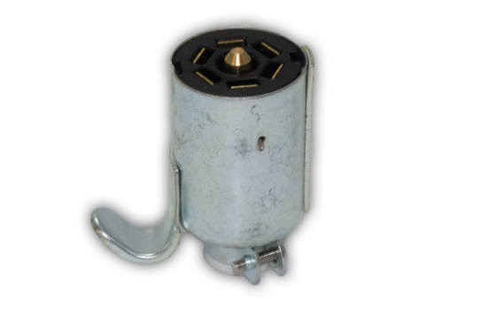 Plug made of Zinc Die Cast housing for superior corrosion resistance and brass pin terminals for best conductivity