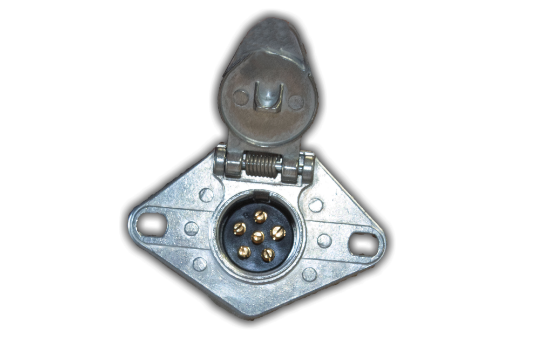 Socket manufactured using rugged diecast zinc that provides superior corrosion resistance.