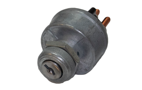 "Universal 4 Position Ignition Switch; Easily replaces any other type of ignition key switch with similar mounting dimensions (Mounting Stem 7/16"" long, 3/4"" - 20 Thread). Robust diecast design that provides durability, corrosion and impact resistance. (1)"