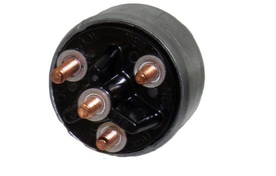 "Universal 4 Position Ignition Switch; Easily replaces any other type of ignition key switch with similar mounting dimensions (Mounting Stem 7/16"" long, 3/4"" - 20 Thread). Robust diecast design that provides durability, corrosion and impact resistance. (2)"