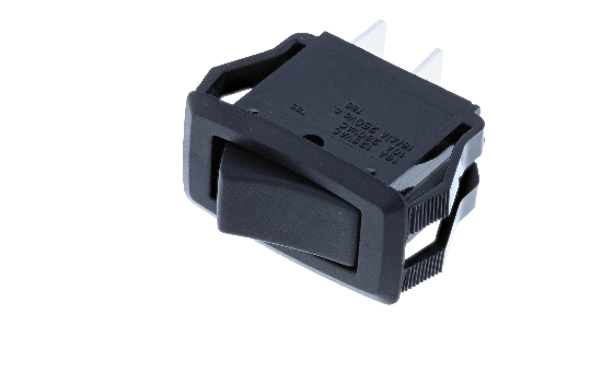 RG1 Series midsize rockers are offered non-illuminated or illuminated and with a two-color molded actuator and bezel (Black and Red) option. Recommended for home appliances, computer equipment, automotive and industrial controls uses._0