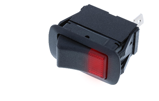 SRB2 Series features an internal dust and water protection seal, rated to IP56. They are Single Pole lighted rockers with one lens available in four different colors. These general purpose switches are suitable for many kinds of applications._1