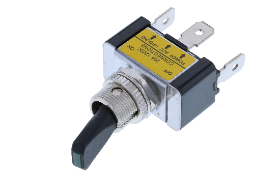 TA toggles can be used in a variety of applications including automotive, marine, commercial or industrial equipment. These switches are available in a wide range of momentary and maintained single pole circuits and terminations. Switch Components Inc. of_1