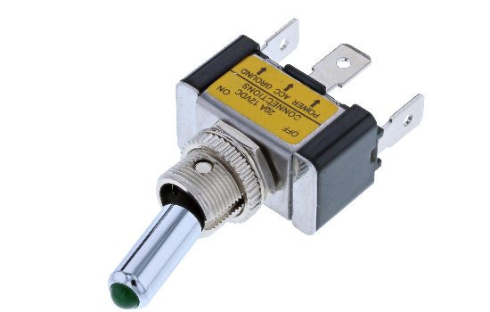TA toggles can be used in a variety of applications including automotive, marine, commercial or industrial equipment. These switches are available in a wide range of momentary and maintained single pole circuits and terminations. Switch Components Inc. of_2