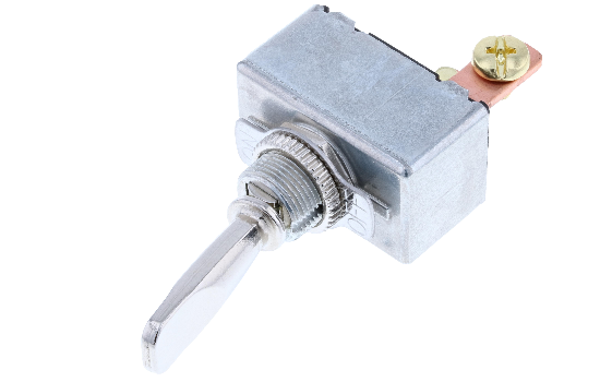 Switch Components' TD series is designed with a heavy duty die cast body and different handle options. Available in different Single Pole circuits and with the option of adding a face plate to indicate the switch position. TD series is commonly used in ra_1