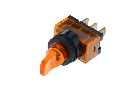 Wedge and duckbill toggles manufactured from a polycarbonate material that ensures protection against water and moisture, ideal for marine applications. Available with different handle options and LED illumination in four different colors._5