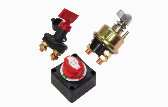 Our battery disconnect switches are designed to cut-off electrical power, help protect against electrical fires and theft when equipment is not in use, provide a reliable shutdown of power during maintenance, and prevent parasitic loads from draining the